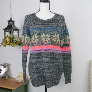 American Eagle Jegging Sweater Scoop Neck Small